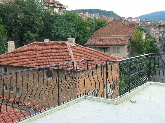 Hotel Color: terrasse