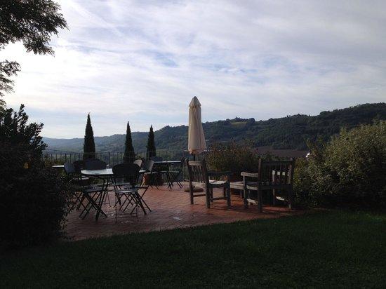 Relais Poggio Borgoni : Terrazza panoramica