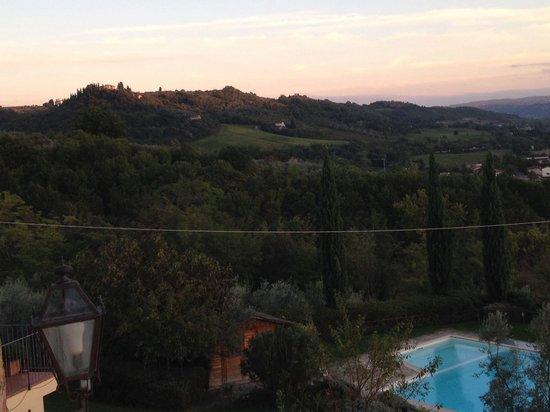 Relais Poggio Borgoni : Panorama