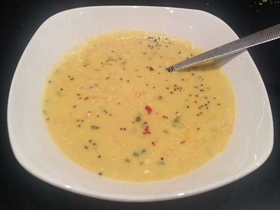 Barbucci: A very lame dish of Dal.