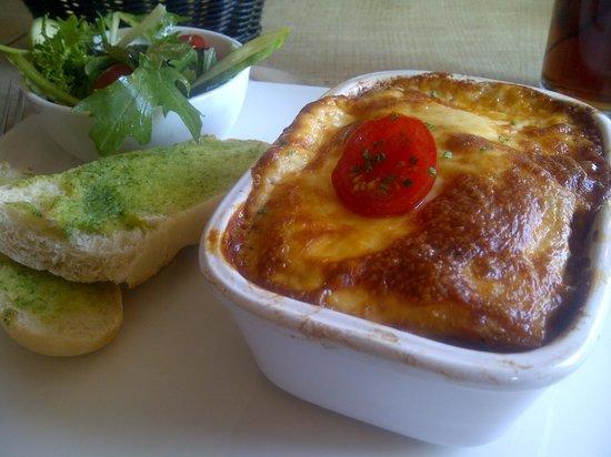 The Langton Arms: Dorset beef lasagne