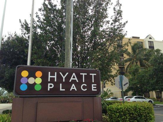 Hyatt Place Fort Lauderdale / Plantation: Fachada del hotel