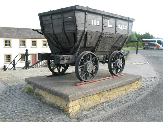 Beamish Museum entrance.