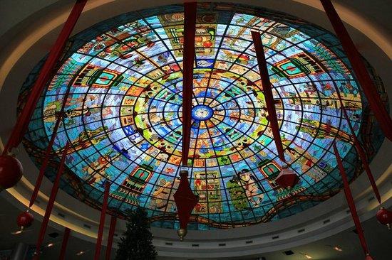 Kukulcan Plaza : Teto do Mall