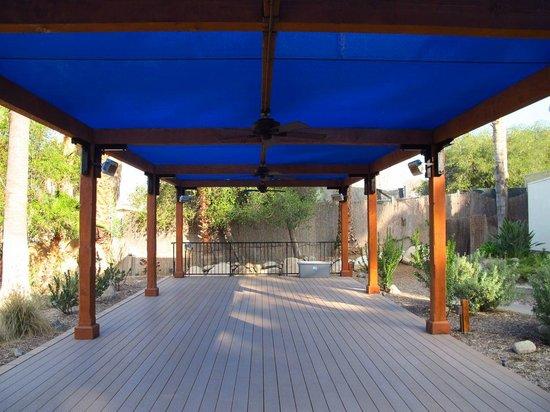 Glen Ivy Hot Springs: Yoga, Activities Area