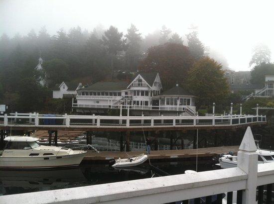 Roche Harbor Resort: The Restaurant from the dock