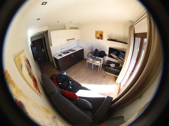 Aparthotel Bubal: salon pl. baja