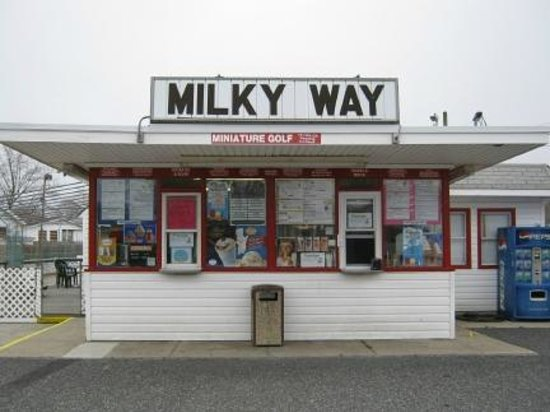 Milky Way Ice Cream: You have arrived!