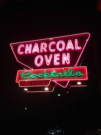 Charcoal Oven Vintage Neon Sign - Picture of Charcoal Oven