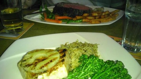 The Landing: Swordfish and Prime Rib