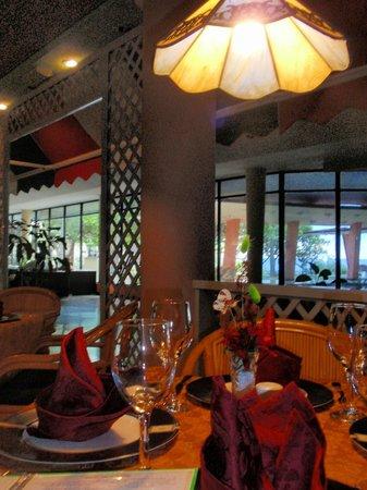 Cubanacan Comodoro: The Italian restaurant