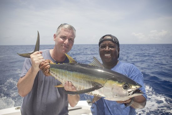 Cape Santa Maria Beach Resort & Villas: Deep sea fishing