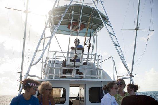 Cape Santa Maria Beach Resort & Villas: Reef fishing with a crew