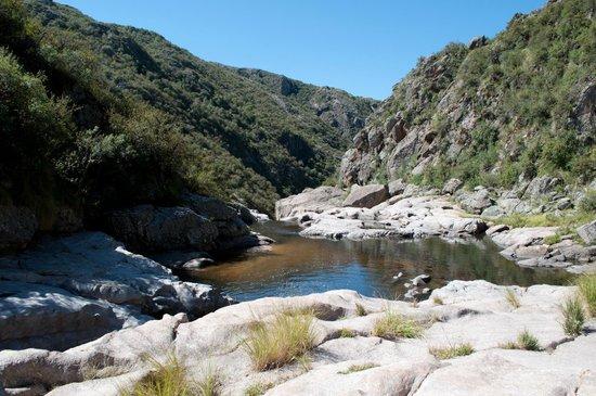 Quebrada del Rio Condorito (Condorito River's Gorge): rio Condorito