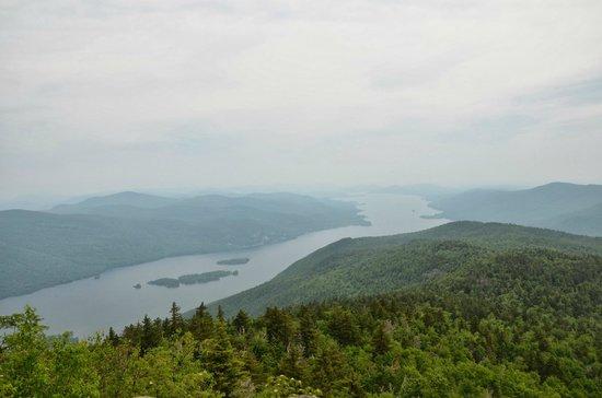 Black Mountain Loop: Black Mountain - view north hazy day