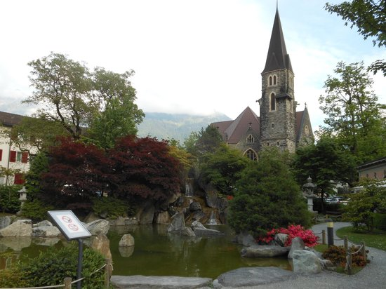 Grindelwald, Suiza: Local Church