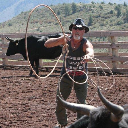 Black Mountain Ranch: Roping!
