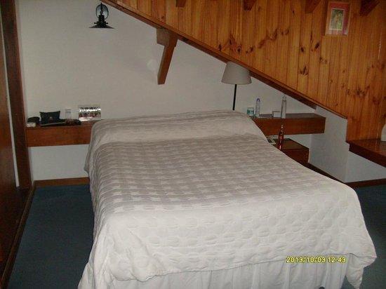 Rincon de los Andes: ¡Cuidado con la  cabeza en el dormitorio!