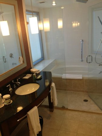 The Westin Charlotte : 1 of 2 bathrooms