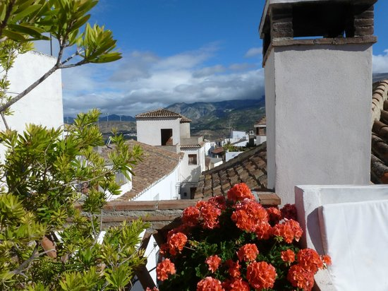Casa Aire de Lecrin: vue de la terrasse