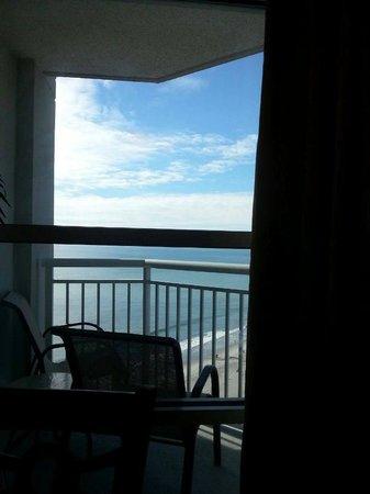 Carolinian Beach Resort: Balcony view