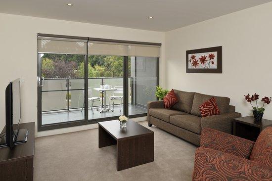 Apartments @ Glen Central : Spacious open plan living