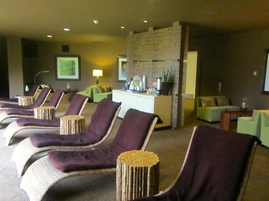 Red Mountain Resort: Relaxation room at the spa