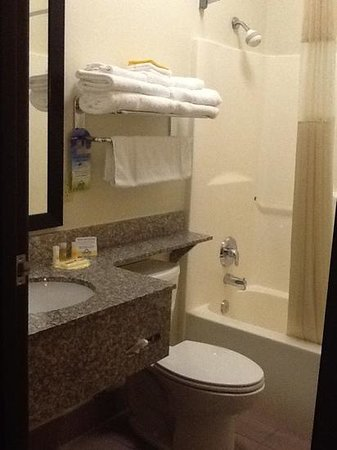 Days Inn & Suites Page Lake Powell : Bathroom