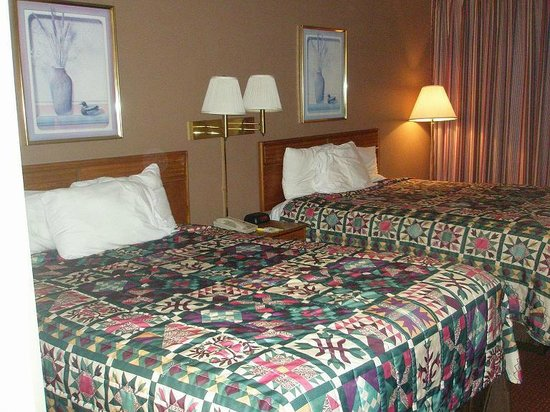 Days Inn White House/Nashville: Beds