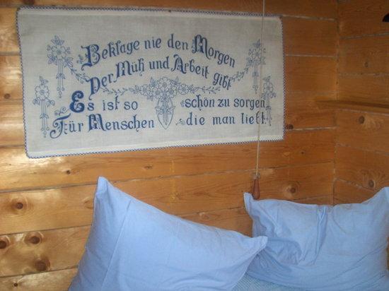 Das Almdorf - World Peace Eco Resort: Liebevolle Details