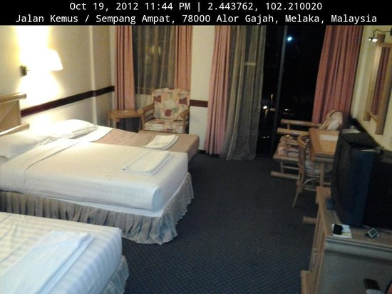 A'Famosa Resort Hotel Melaka: Twin Sharing with extra bed