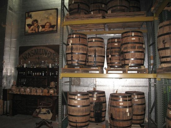 Copper Fox Distillery: Barrels