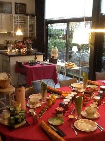 La Villa Perier : kitchen