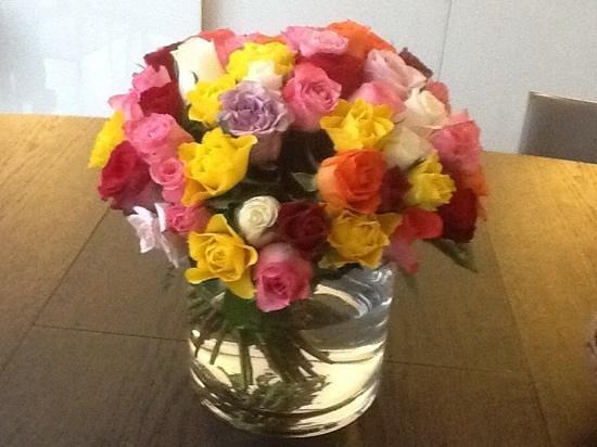 La Villa Perier : fresh flowers everywhere