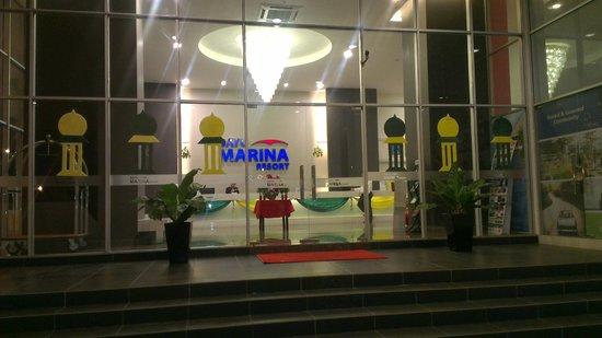 Bayu Marina Resort: Lobby area