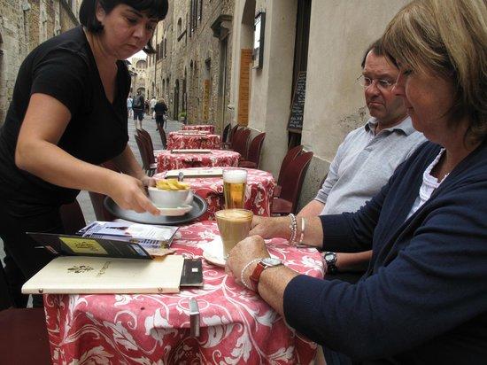 Bar Firenze: Lovely service