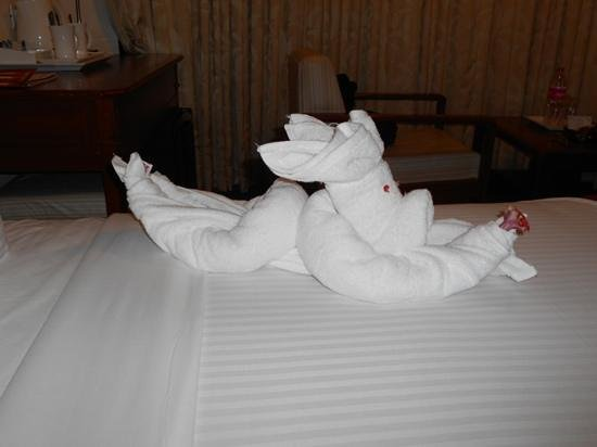 Hotel  Germanus : towel folding