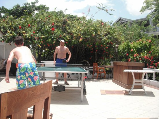 Sandals Royal Caribbean Resort and Private Island : Ping pong tournament