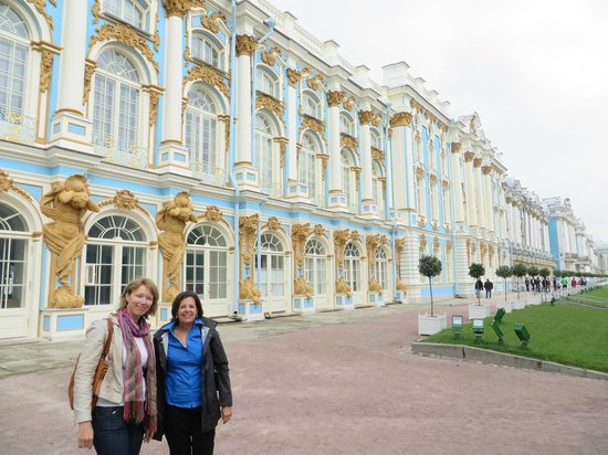 Peter's Walking Tour: We explore Catherine's Palace with Vika