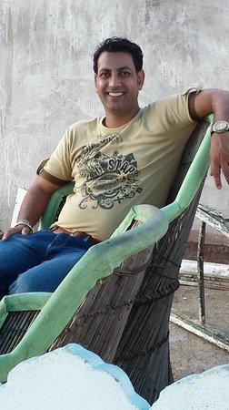 Owner of the Sargam Sadan Hotel Mr Neeraj Katta