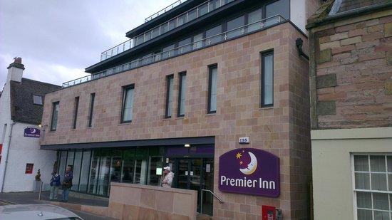 Premier Inn Inverness Centre (River Ness) Hotel: Hotel main entrance