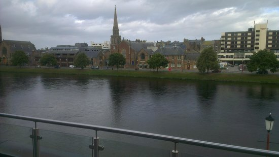 Premier Inn Inverness Centre (River Ness) Hotel: View from the room