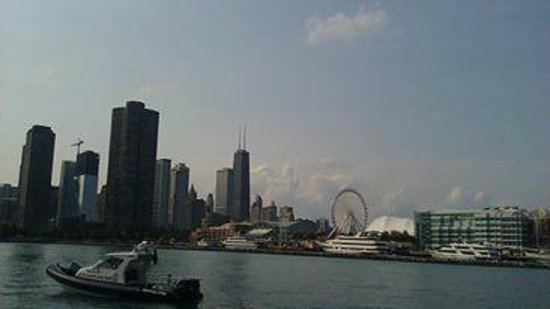 View Of Navy Pier And Chicago Skyline Picture Of Seadog