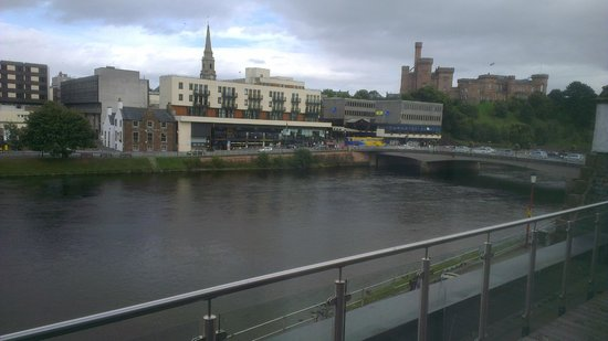 Premier Inn Inverness Centre (River Ness) Hotel: View with castle in the background