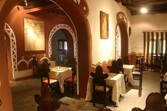 San Toro : Interior decoration of the restaurant