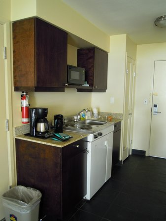 Best Western Tin Wis Resort: Kitchenette was very useful