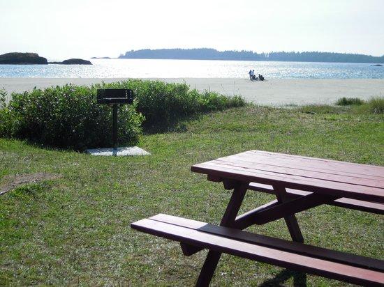 Best Western Tin Wis Resort: Beach BBQs