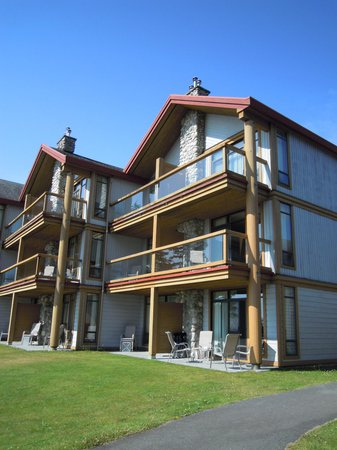 Best Western Tin Wis Resort: Exterior view of newest wing