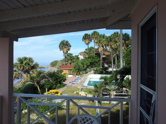 Treasure Beach Hotel : Balcont Veiw Right