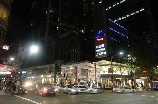 World Square Directly Opposite With Coles Supermarket Picture Of